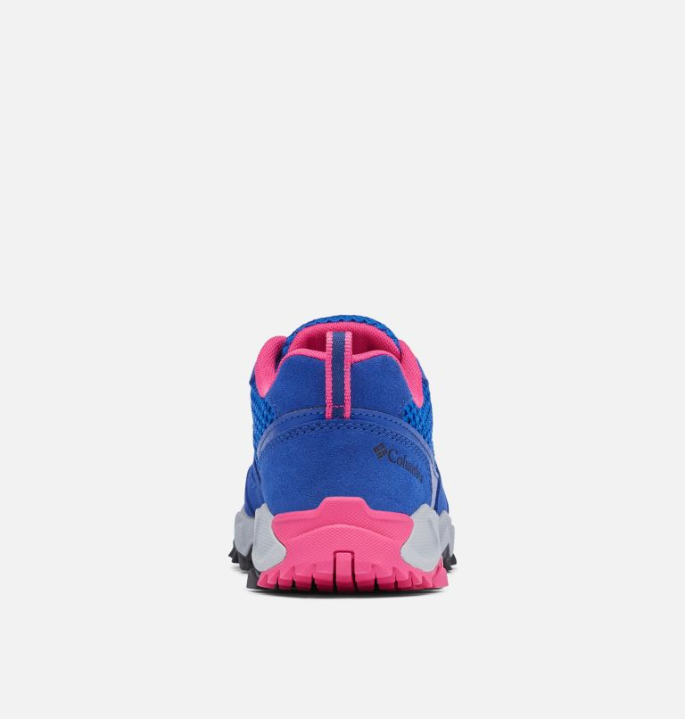 IVO TRAIL™ BREEZE | 410 | 7.5 Women's Ivo Trail™ Breeze Shoe, Cobalt Blue, Haute Pink, back