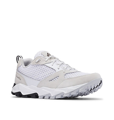 Women's Ivo Trail™ Breeze Shoe – Wide IVO TRAIL™ BREEZE WIDE | 100 | 10.5, White, Grey Ice, 3/4 front