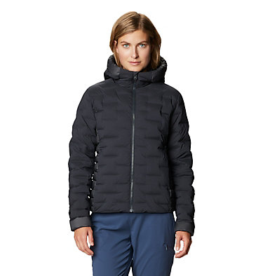 Women's Super/DS™ Stretchdown Hybrid Jacket Super/DS™ Hybrid Jacket | 253 | L, Dark Storm, front