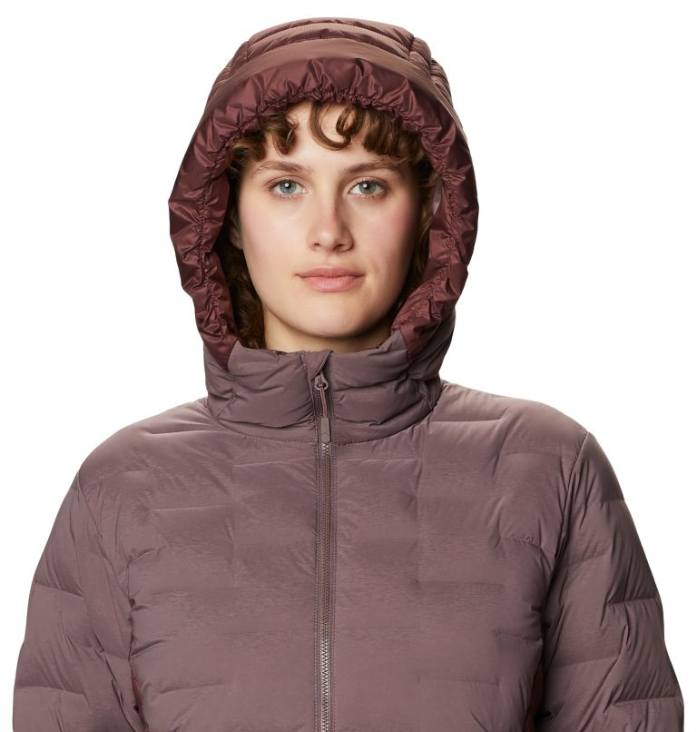 Super/DS™ Hybrid Jacket | 249 | M Women's Super/DS™ Stretchdown Hybrid Hooded Jacket, Warm Ash, a2