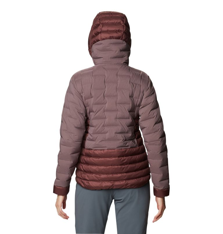 Women's Super/DS™ Stretchdown Hybrid Hooded Jacket Women's Super/DS™ Stretchdown Hybrid Hooded Jacket, back