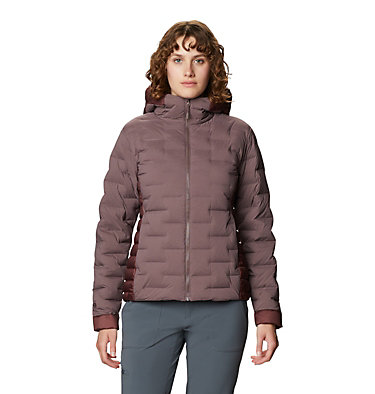 Women's Super/DS™ Stretchdown Hybrid Jacket Super/DS™ Hybrid Jacket | 253 | L, Warm Ash, front