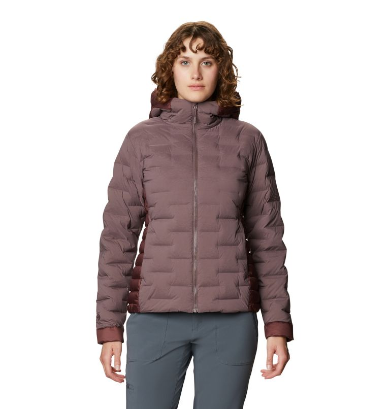 Women's Super/DS™ Stretchdown Hybrid Hooded Jacket Women's Super/DS™ Stretchdown Hybrid Hooded Jacket, front