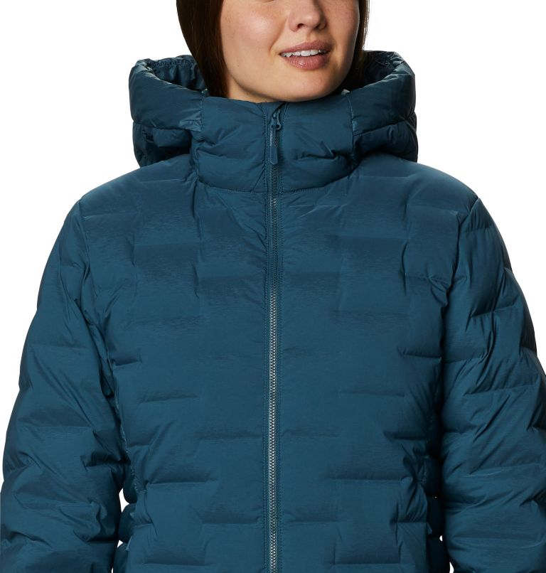 Super/DS™ Hybrid Jacket | 324 | M Women's Super/DS™ Stretchdown Hybrid Hooded Jacket, Icelandic, a2