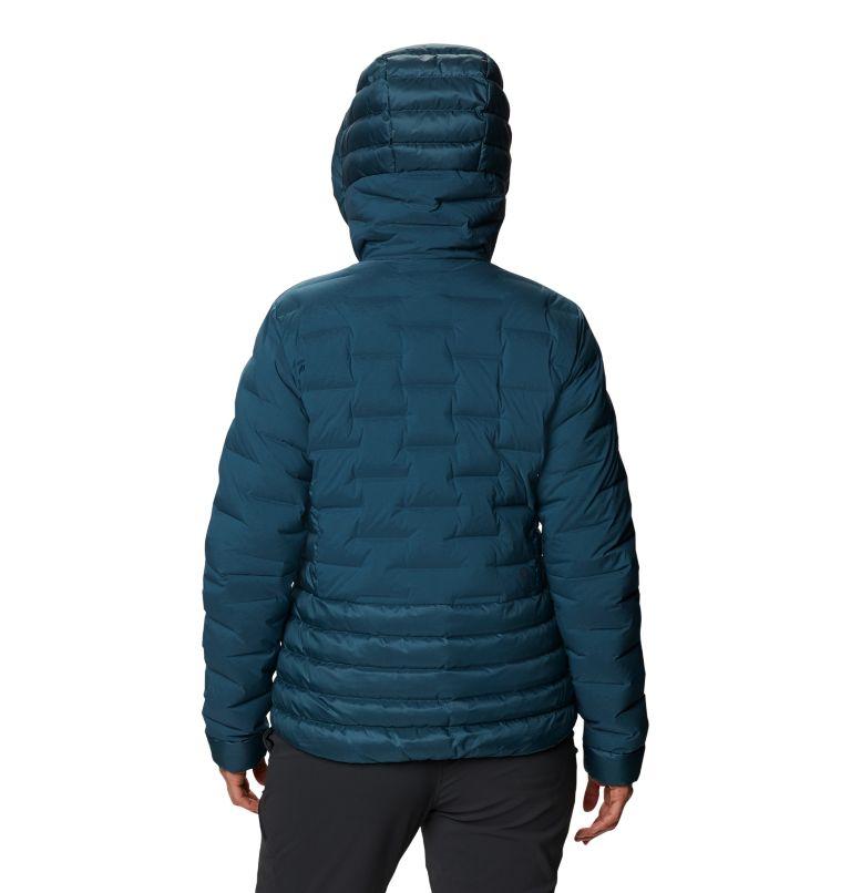 Super/DS™ Hybrid Jacket | 324 | M Women's Super/DS™ Stretchdown Hybrid Hooded Jacket, Icelandic, back