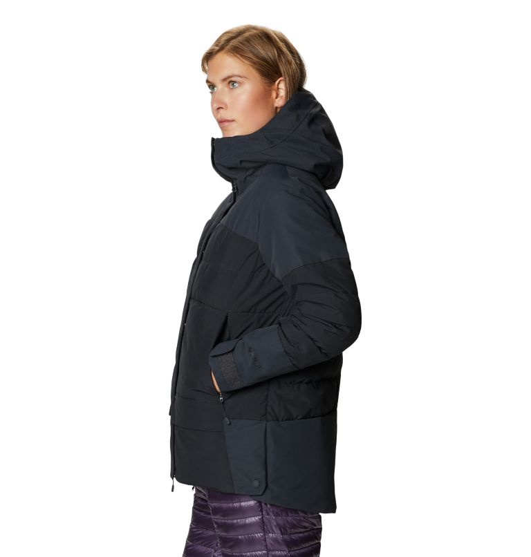 White Peak/2™ Down Parka | 004 | S Women's White Peak/2™ Down Parka, Dark Storm, a1