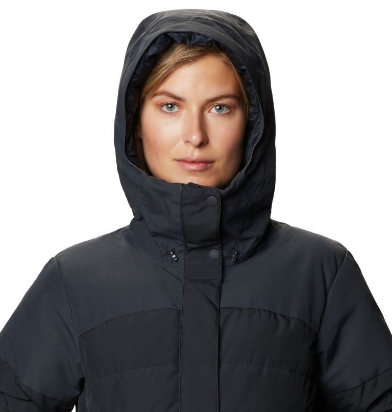 White Peak/2™ Down Parka | 004 | S Women's White Peak/2™ Down Parka, Dark Storm, a2