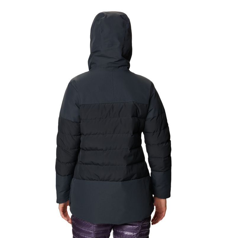 White Peak/2™ Down Parka | 004 | S Women's White Peak/2™ Down Parka, Dark Storm, back