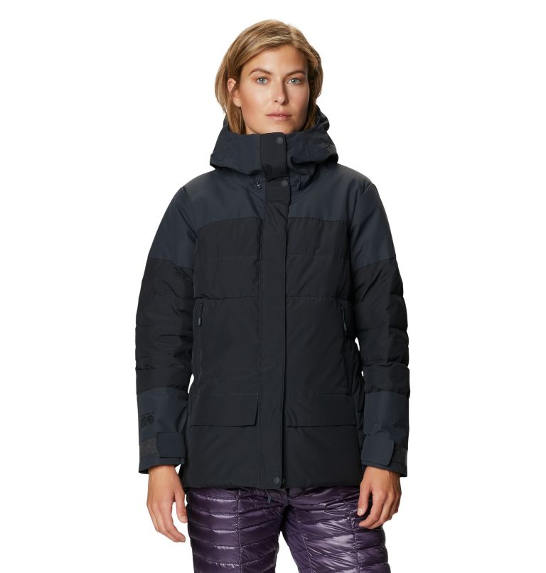 White Peak/2™ Down Parka | 004 | S Women's White Peak/2™ Down Parka, Dark Storm, front
