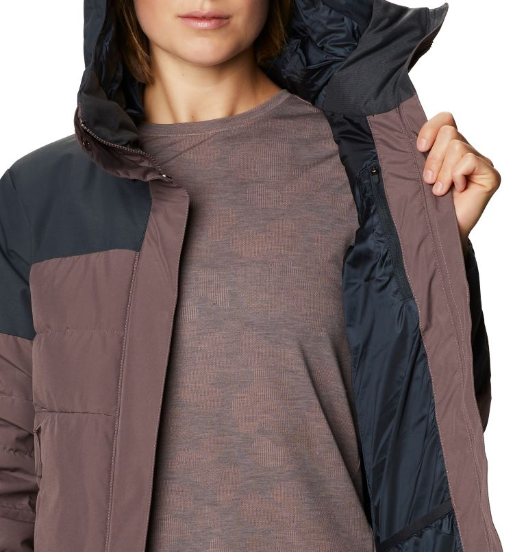 White Peak/2™ Down Parka | 249 | XL Women's White Peak/2™ Down Parka, Warm Ash, a4