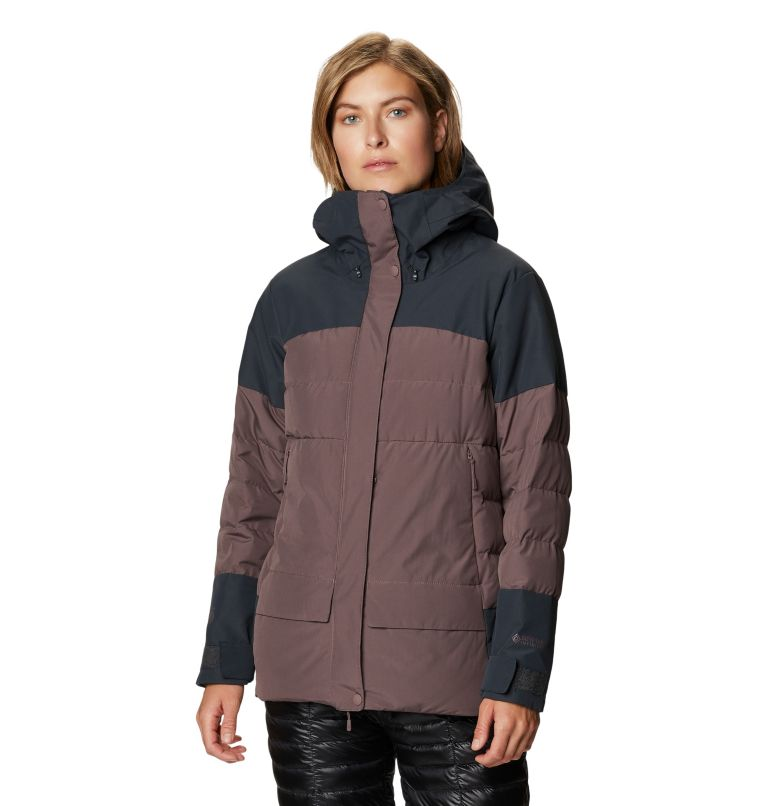 White Peak/2™ Down Parka | 249 | XL Women's White Peak/2™ Down Parka, Warm Ash, front