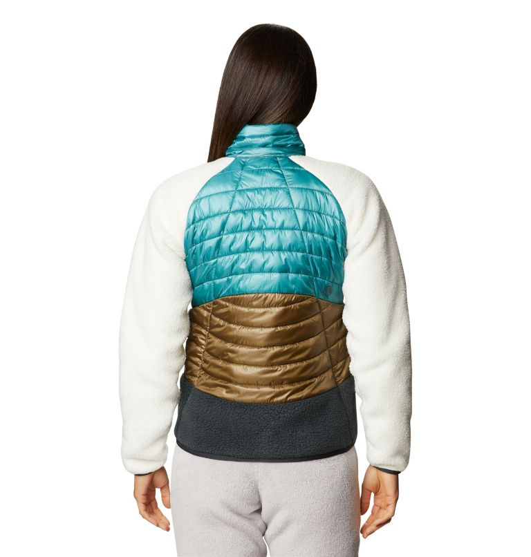 Altius Hybrid W Jkt | 447 | XL Women's Altius Hybrid Jacket, Washed Turq, back