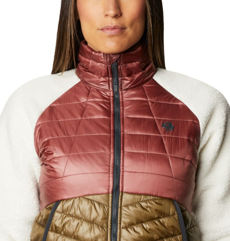 Altius Hybrid W Jkt | 643 | S Women's Altius Hybrid Jacket, Clay Earth, a2
