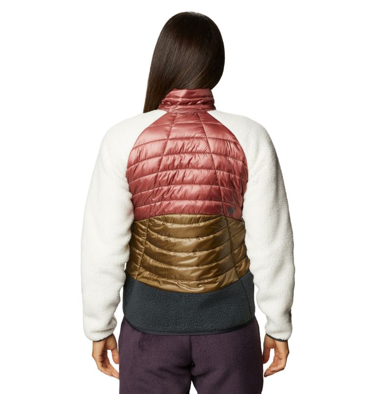 Altius Hybrid W Jkt | 643 | S Women's Altius Hybrid Jacket, Clay Earth, back