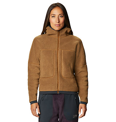 Women's Southpass™ Fleece Hoody Southpass™ Fleece Hoody | 629 | M, Golden Brown, front