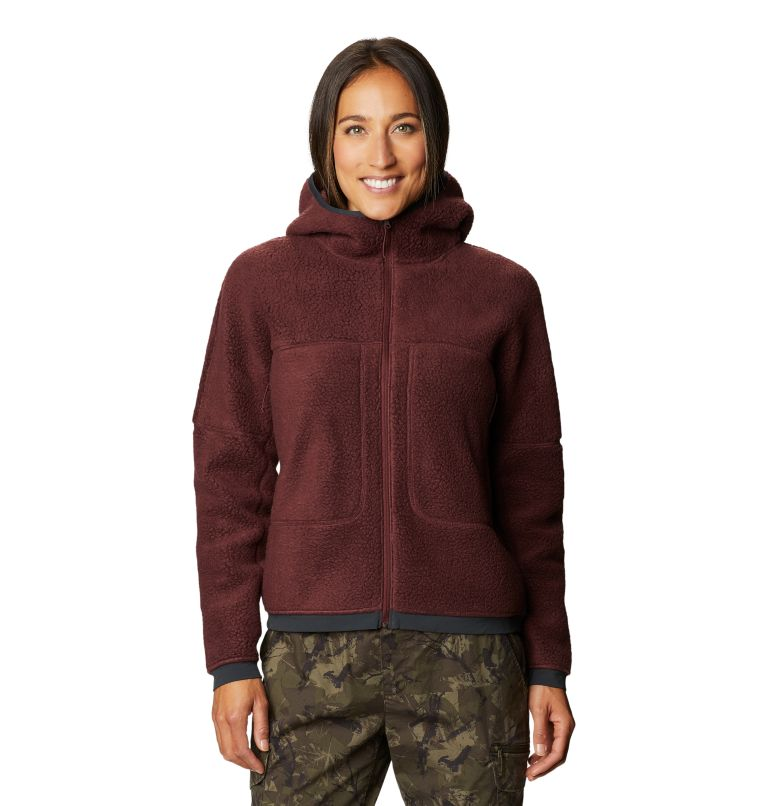 Southpass™ Fleece Hoody | 629 | L Women's Southpass™ Fleece Hoody, Washed Raisin, front