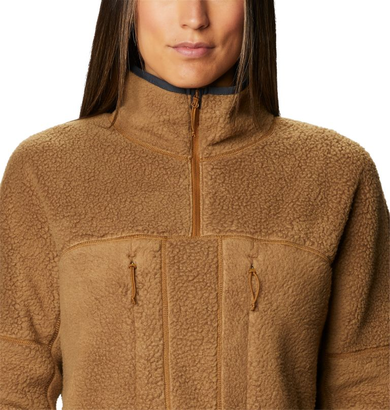 Southpass™ Fleece Pullover | 233 | XL Women's Southpass™ Fleece Pullover, Golden Brown, a2