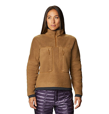Women's Southpass™ Fleece Pullover Southpass™ Fleece Pullover | 629 | L, Golden Brown, front