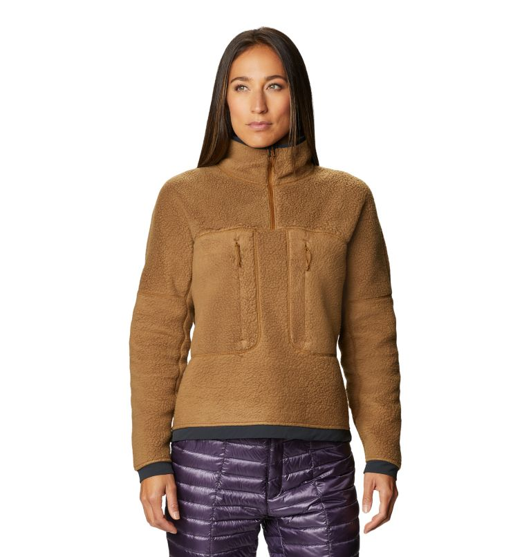 Southpass™ Fleece Pullover | 233 | XL Women's Southpass™ Fleece Pullover, Golden Brown, front