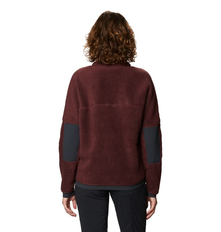Southpass™ Fleece Pullover | 629 | S Women's Southpass™ Fleece Pullover, Washed Raisin, back