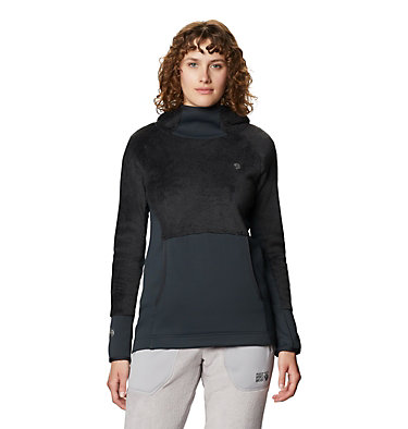 Women's Polartec High Loft™ Hoody Monkey Fleece™ Hoody | 055 | M, Dark Storm, front
