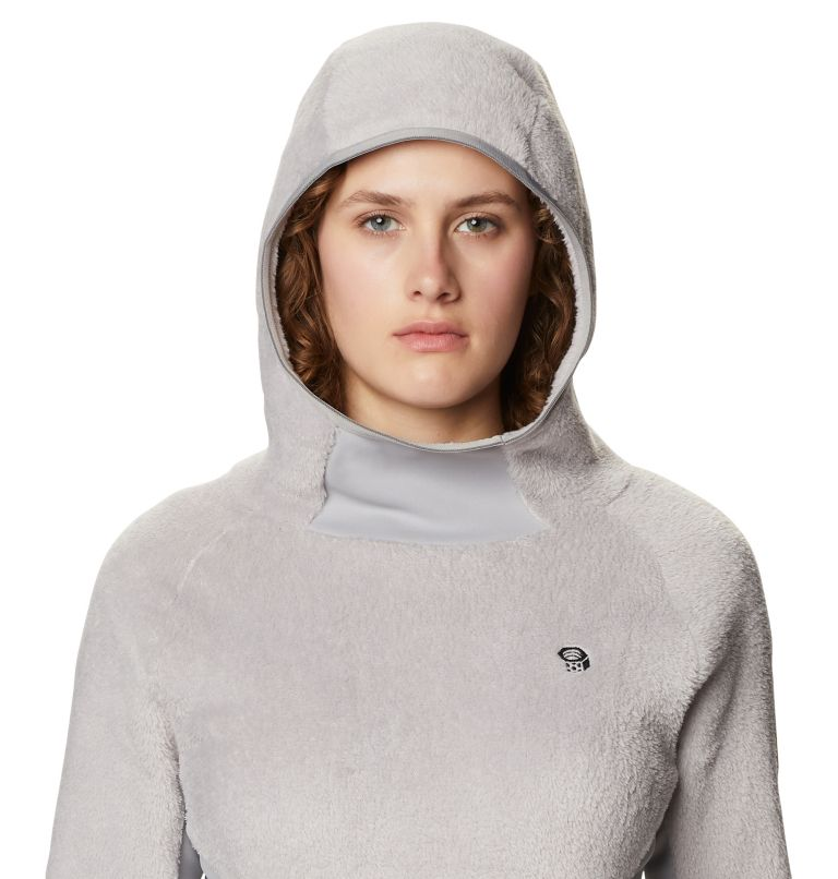 Monkey Fleece™ Hoody | 055 | XL Women's Polartec® High Loft™ Hoody, Light Dunes, a2