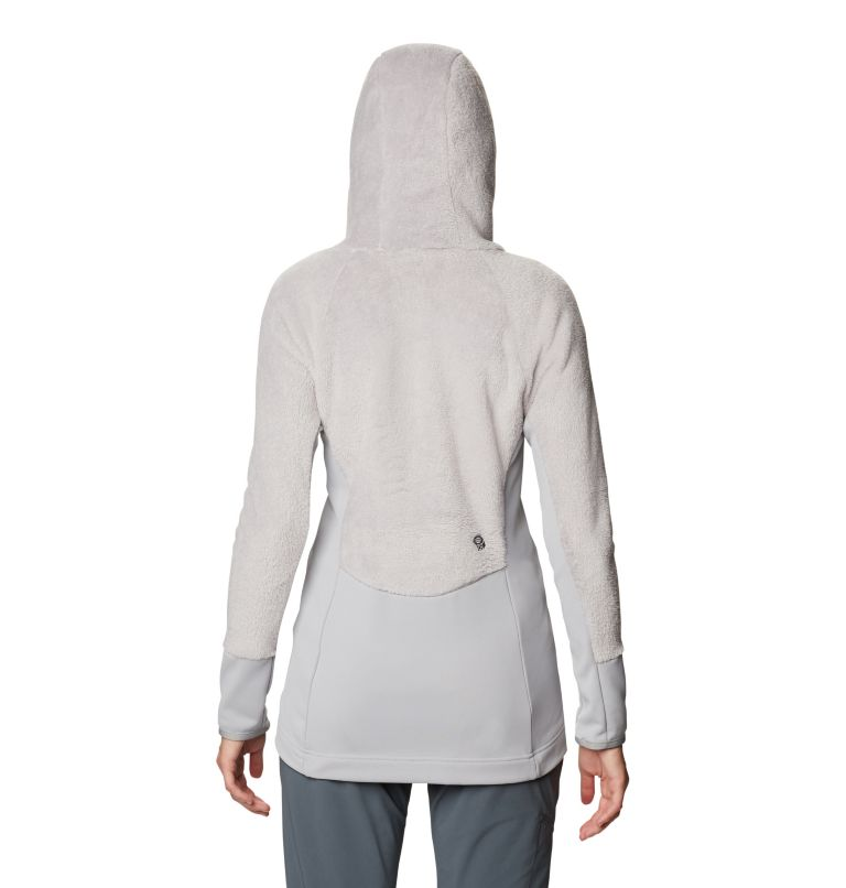 Monkey Fleece™ Hoody | 055 | XL Women's Polartec® High Loft™ Hoody, Light Dunes, back