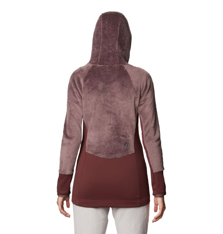 Monkey Fleece™ Hoody | 249 | L Women's Polartec® High Loft™ Hoody, Warm Ash, back
