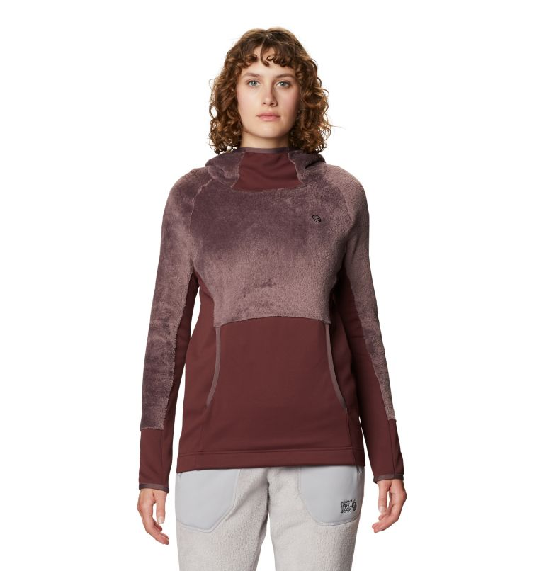 Monkey Fleece™ Hoody | 249 | L Women's Polartec® High Loft™ Hoody, Warm Ash, front