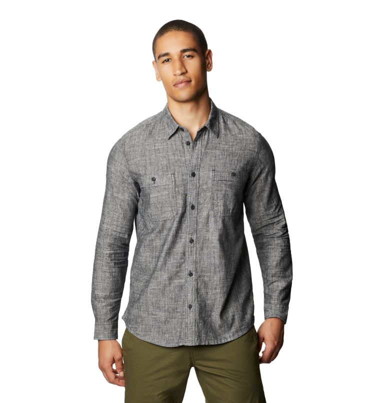 Piney Creek™ Long Sleeve Shirt | 004 | M Men's Piney Creek™ Long Sleeve Shirt, Dark Storm, front