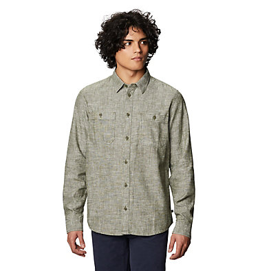 Men's Piney Creek™ Long Sleeve Shirt Piney Creek™ Long Sleeve Shirt | 004 | L, Dark Army, front