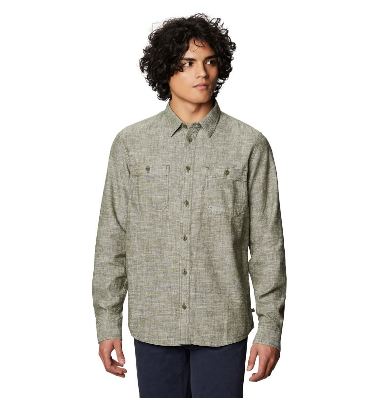 Piney Creek™ Long Sleeve Shirt | 304 | XL Chemise à manches longues Piney Creek™ Homme, Dark Army, front