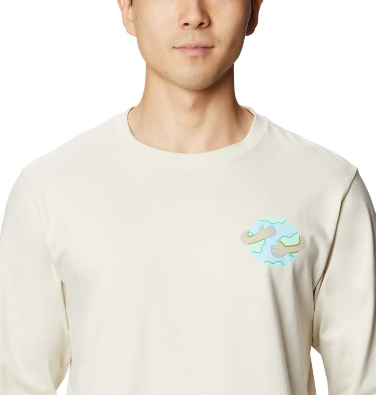 Keep Earth Awesome™ Long Sleeve T | 022 | L Men's Keep Earth Awesome™ Long Sleeve T-Shirt, Stone, a2