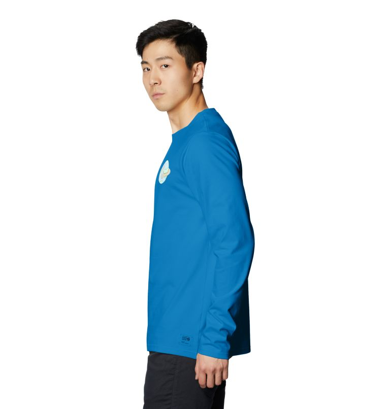 Keep Earth Awesome™ Long Sleeve T | 402 | L Men's Keep Earth Awesome™ Long Sleeve T-Shirt, Blue Horizon, a1