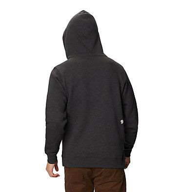 Men's Mountain Hardwear Logo™ Pullover Hoody Mountain Hardwear Logo™ Pullover Hoody | 074 | L, Heather Black, back