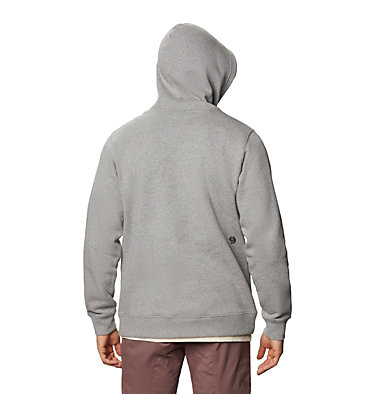 Men's Mountain Hardwear Logo™ Pullover Hoody Mountain Hardwear Logo™ Pullover Hoody | 074 | L, Heather Manta Grey, back
