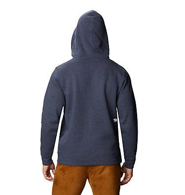 Men's Mountain Hardwear Logo™ Pullover Hoody Mountain Hardwear Logo™ Pullover Hoody | 074 | L, Heather Dark Zinc, back