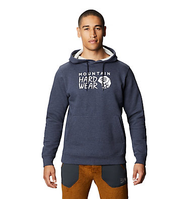Men's Mountain Hardwear Logo™ Pullover Hoody Mountain Hardwear Logo™ Pullover Hoody | 074 | L, Heather Dark Zinc, front