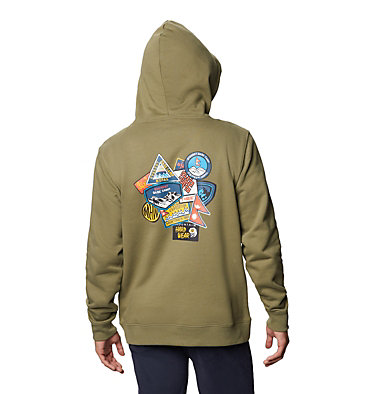 Men's Patchwork™ Hoody Patchwork™ Hoody | 333 | L, Light Army, back