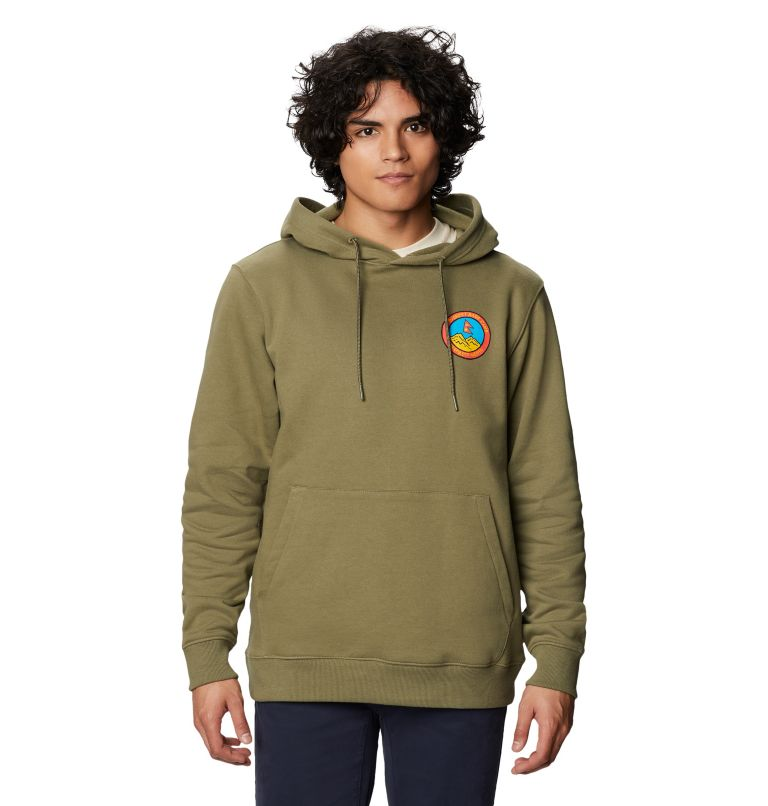 Patchwork™ Hoody | 333 | XS Men's Patchwork™ Hoody, Light Army, front
