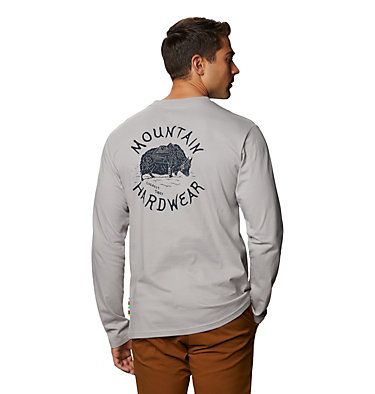 Men's MHW Yak™ Long Sleeve T-Shirt MHW Yak™ Long Sleeve T | 333 | L, Light Dunes, back