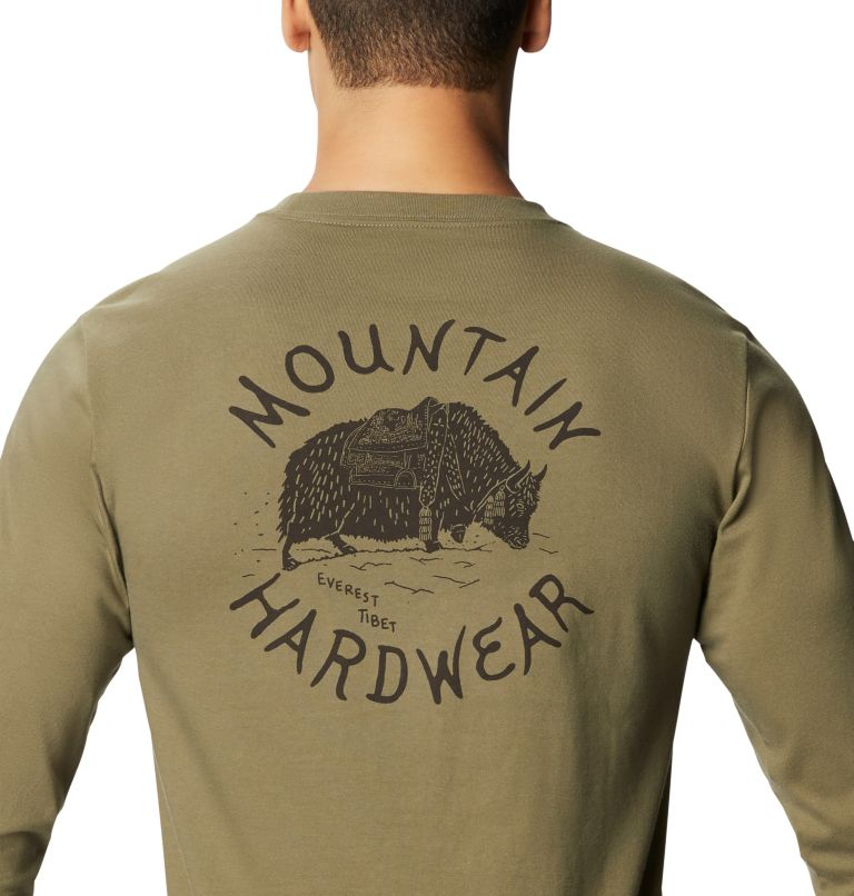 Men's MHW Yak™ Long Sleeve T-Shirt Men's MHW Yak™ Long Sleeve T-Shirt, a3