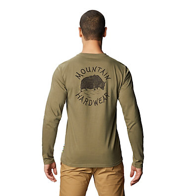 Men's MHW Yak™ Long Sleeve T-Shirt MHW Yak™ Long Sleeve T | 333 | L, Light Army, back