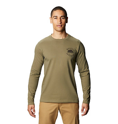 Men's MHW Yak™ Long Sleeve T-Shirt MHW Yak™ Long Sleeve T | 333 | L, Light Army, front