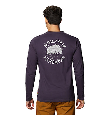 Men's MHW Yak™ Long Sleeve T-Shirt MHW Yak™ Long Sleeve T | 333 | L, Blurple, back