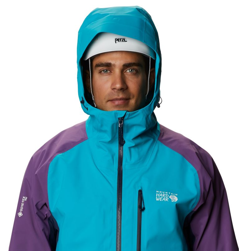 Exposure/2™ Gore-Tex Pro Lite Jacket | 443 | M Men's Exposure/2™ Gore Tex Pro Lite Jacket, Traverse, a2