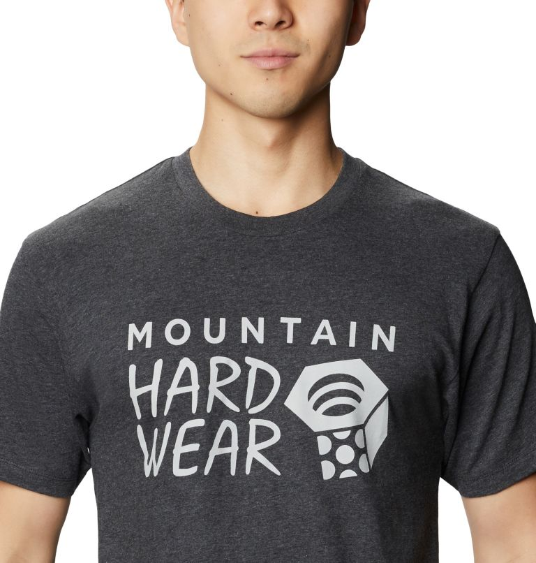 Mountain Hardwear Logo™ Short Sleeve T | 011 | M Men's Mountain Hardwear Logo™ Short Sleeve T-Shirt, Heather Black, a2