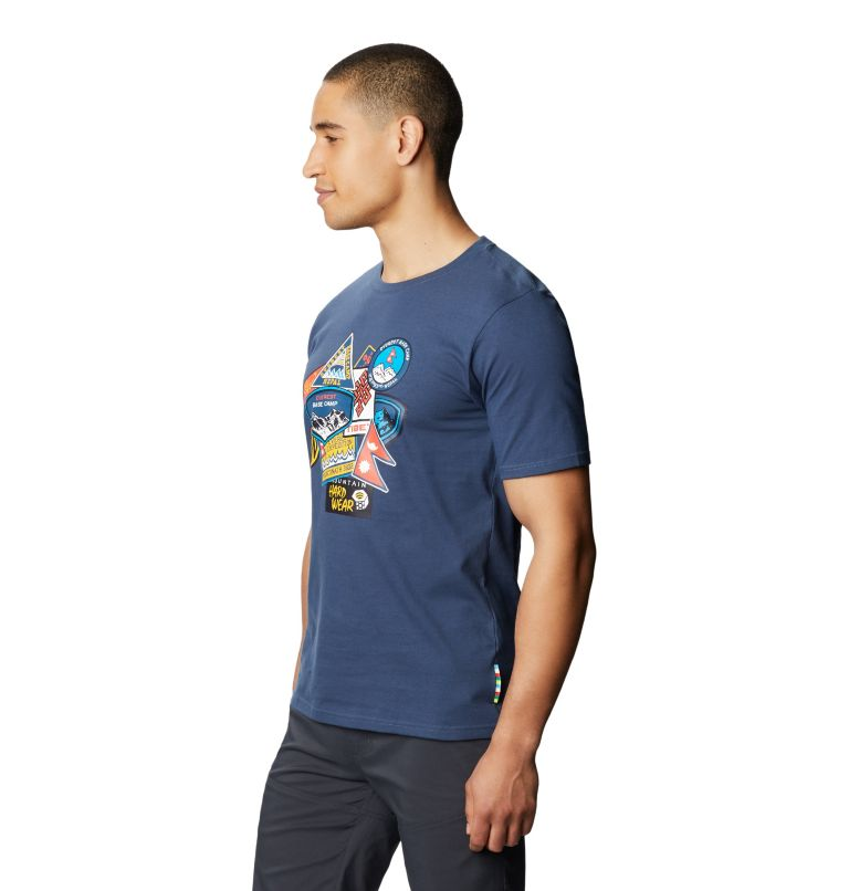 Patchwork™ Short Sleeve T | 492 | XL Men's Patchwork™ Short Sleeve T-Shirt, Zinc, a1