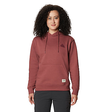 Chandail à capuchon Mountain Legs™ Femme Mountain Legs™ Hoody | 055 | L, Washed Rock, front