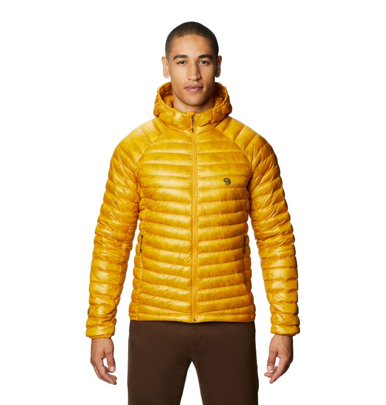 Ghost Whisperer™ UL Jacket | 750 | S Men's Ghost Whisperer™ UL Hooded Down Jacket, Gold Hour, front